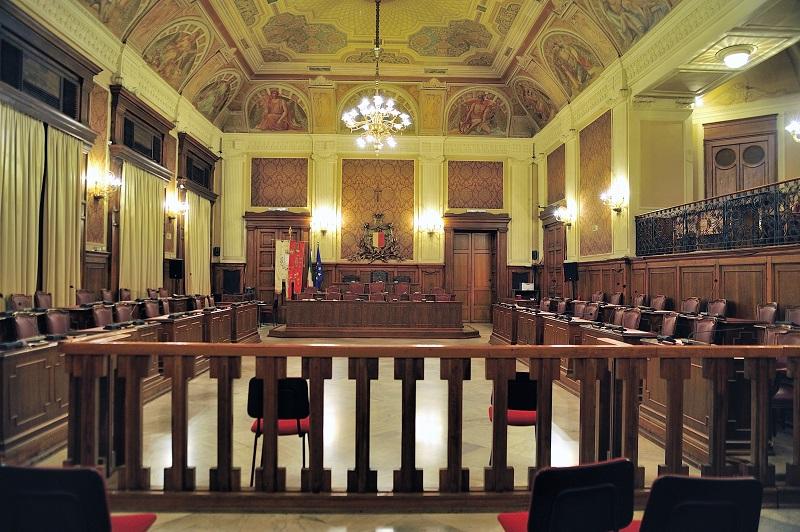 Decorazioni Sala Per 18 Anni : Comune di bari sala consiliare le sale del palazzo